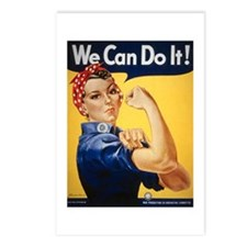 Rosie Riveter We Can Do It Postcards (Package of 8