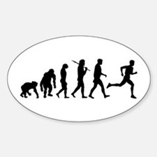 Evolution of Running Oval Decal