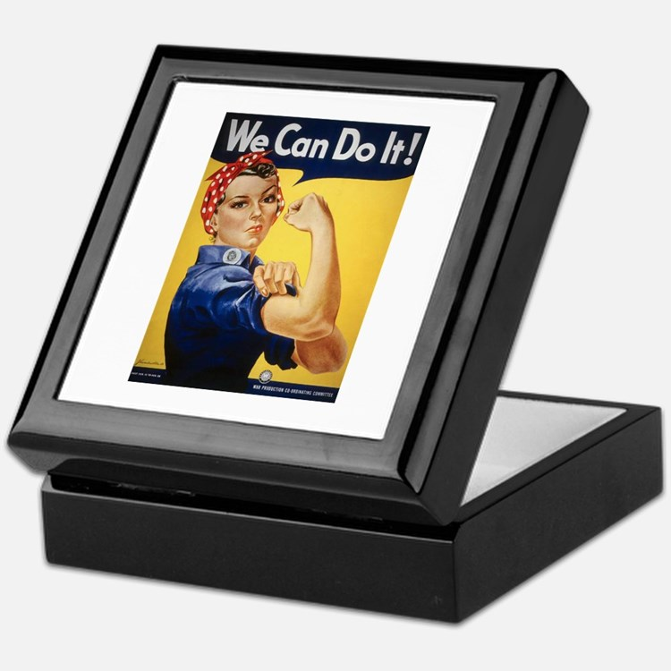 Rosie Riveter We Can Do It Keepsake Box