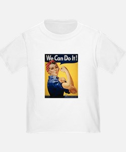 Rosie Riveter We Can Do It T