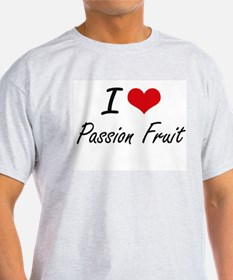 I Love Passion Fruit artistic design T-Shirt