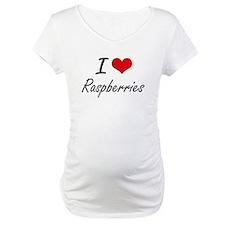 I Love Raspberries artistic desi Shirt