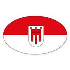 Vorarlberg Flag Oval Decal