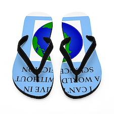 science fiction Flip Flops