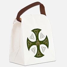 Celtic Cross Canvas Lunch Bag