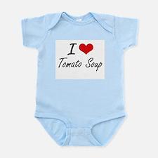 I Love Tomato Soup artistic design Body Suit