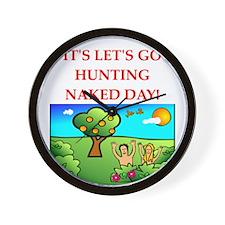 hunting Wall Clock
