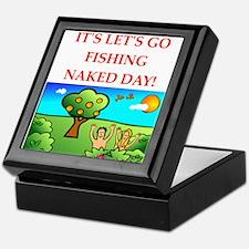 fishing Keepsake Box