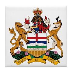 Alberta Coat of Arms (Big) Tile Coaster