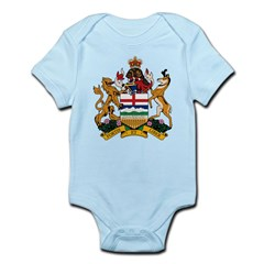 Alberta Coat of Arms (Big) Infant Creeper