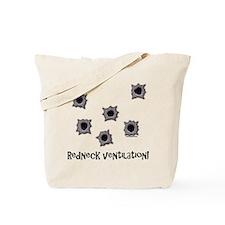 Redneck Ventilation Tote Bag