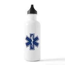 EMS EMT Rescue Logo Water Bottle