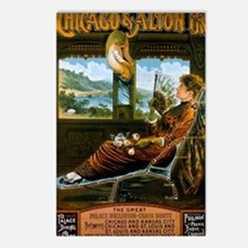 Chicago & Alton Railroad  Postcards (Package of 8)