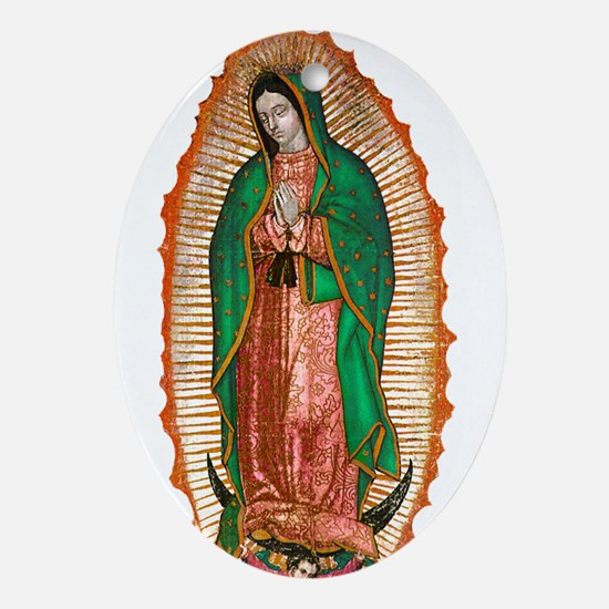 Guadalupe2.psd Oval Ornament