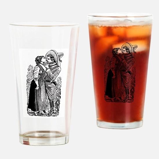 Revolutionary Love illustration Drinking Glass