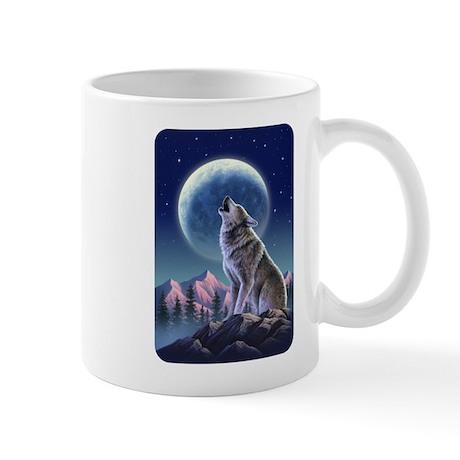 Howling Wolf 1 Mug