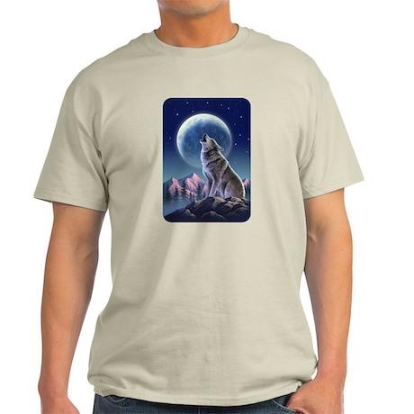 Howling Wolf 1 Light T-Shirt