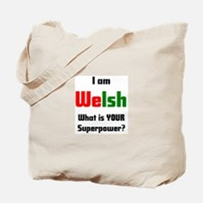 i am welsh Tote Bag