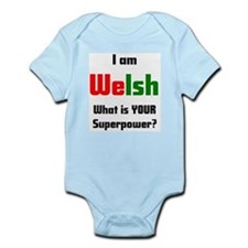 i am welsh2 Infant Bodysuit