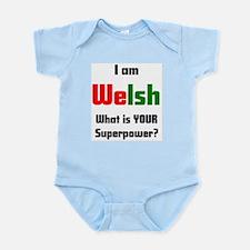 i am welsh Infant Bodysuit