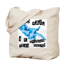 Funny Sexyback Tote Bag