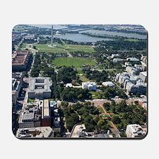 Lafayette Square Aerial Photograph Mousepad