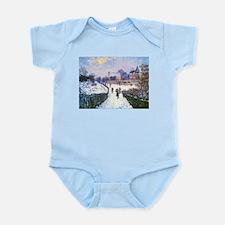Claude Monet Boulevard in Argenteuil Body Suit