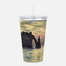 Claude Monet, Cliff Et Acrylic Double-wall Tumbler