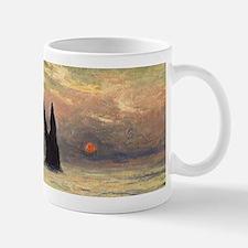 Claude Monet, Cliff Etretat Sunset Mugs