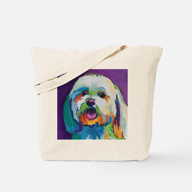Dash the Pop Art Dog Tote Bag