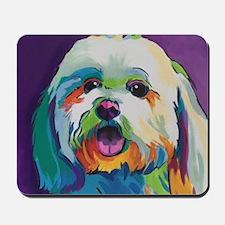 Dash the Pop Art Dog Mousepad