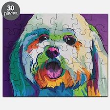 Dash the Pop Art Dog Puzzle