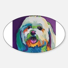 Dash the Pop Art Dog Decal