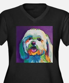 Dash the Pop Art Dog Plus Size T-Shirt