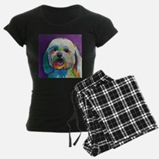 Dash the Pop Art Dog Pajamas
