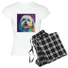 Dash the Pop Art Dog Pajamas