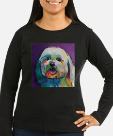Dash the Pop Art Dog Long Sleeve T-Shirt