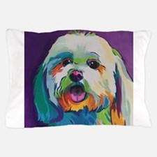 Dash the Pop Art Dog Pillow Case
