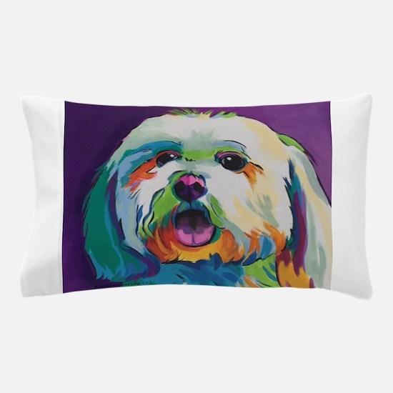 Dash the Pop Art Dog Pillow Case