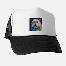 Dash the Pop Art Dog Trucker Hat