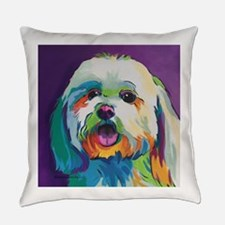 Dash the Pop Art Dog Everyday Pillow