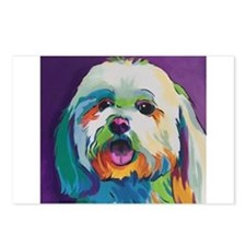 Dash the Pop Art Dog Postcards (Package of 8)