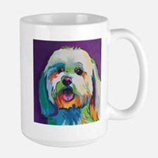 Dash the Pop Art Dog Mugs