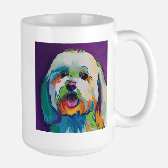 D Maltese Dog Coffee Mug