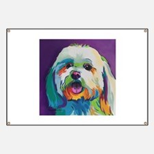 Dash the Pop Art Dog Banner