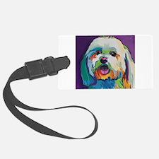Dash the Pop Art Dog Luggage Tag