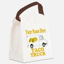 Taco Truck Canvas Lunch Bag