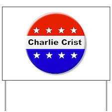 Vote Charlie Crist Yard Sign