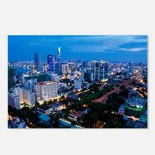 night Ho Chi Minh city Postcards (Package of 8)