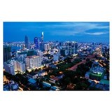 Ho chi minh scenic Wrapped Canvas Art